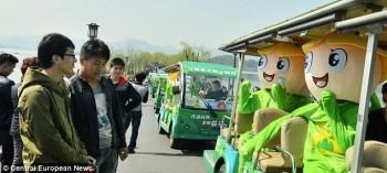 Cina, vengono commercializzate bottiglie di aria fresca e pulita (1)