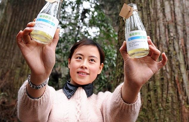 Cina, vengono commercializzate bottiglie di aria fresca e pulita (3)