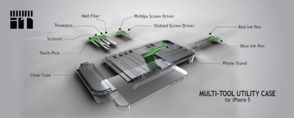 IN1, la cover-coltellino svizzero per iPhone 5 e 5s (2)