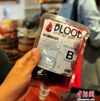 Sacche di sangue potabile