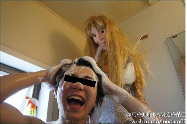 Trasforma la doccia in una bambola (5)