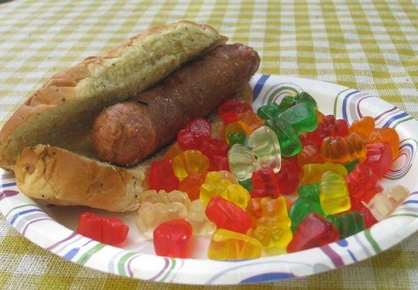 Wurstel al gusto di orsetti gommosi (1)