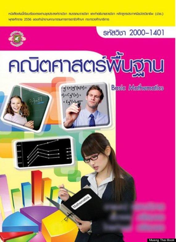Pornostar giapponese finisce sulla copertina di un libro di matematica (3)