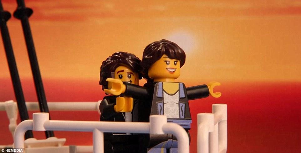Scene cult del cinema ricreate con i Lego