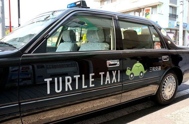 Turtle Taxi, in Giappone è nato il servizio di taxi per chi non ha fretta (1)
