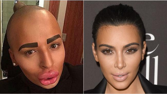 Jordan Parke, l'uomo che vuole diventare Kim Kardashian