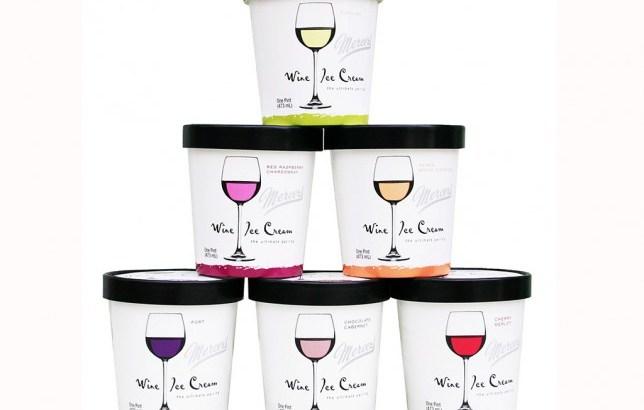 Creato il gelato al gusto di vino