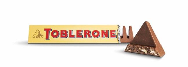 Toblerone curiosità sul cioccolato