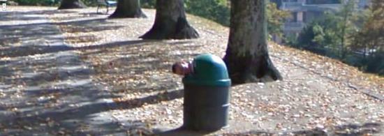 Dieci immagini inquietanti trovate su Google Street View
