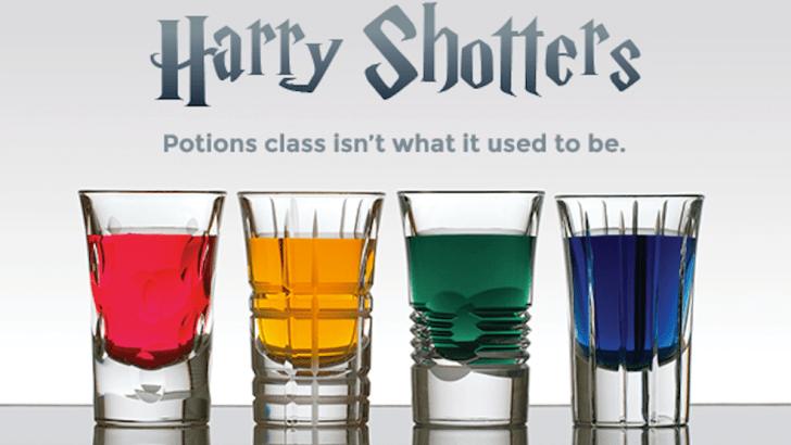 Harry Shotters, gli shottini ispirati a Harry Potter