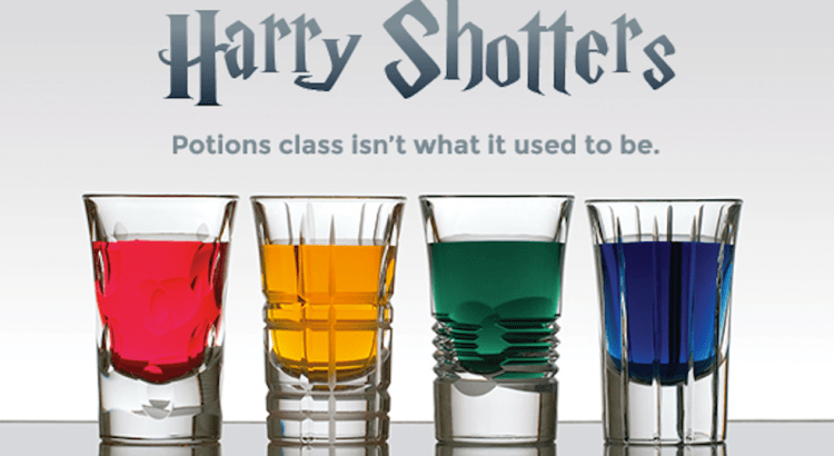 Harry Shotters, gli shottini ispirati a Harry Potter