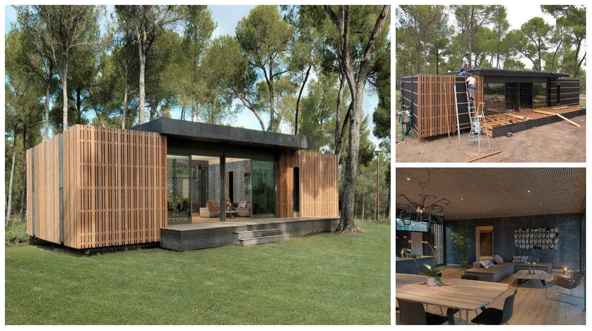 Popup House La Casa Eco Sostenibile Che Si Monta Come I Mobili Ikea