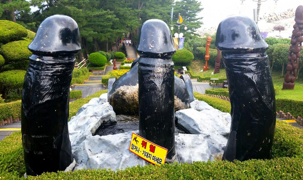 Haeshindang Park, il Parco dei Peni della Corea del Sud