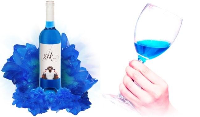 Dalla Spagna arriva Gik, il vino blu