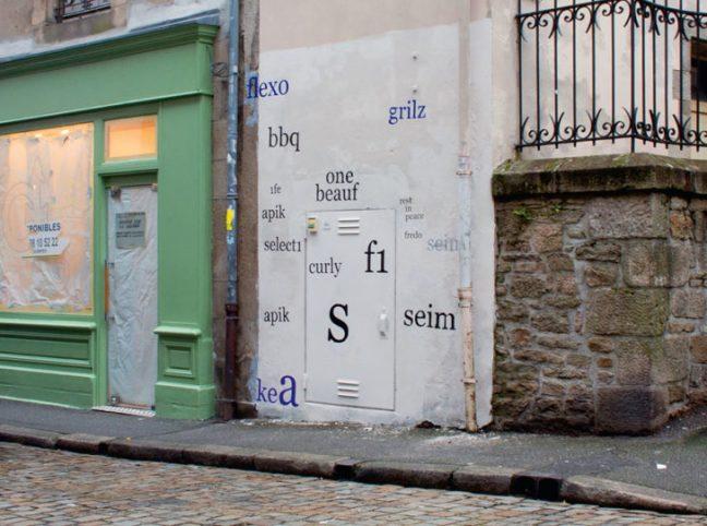 Riscrive sui muri le tag dei writers con testi leggibili4