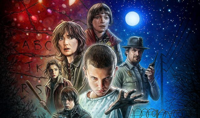 stranger things copertina