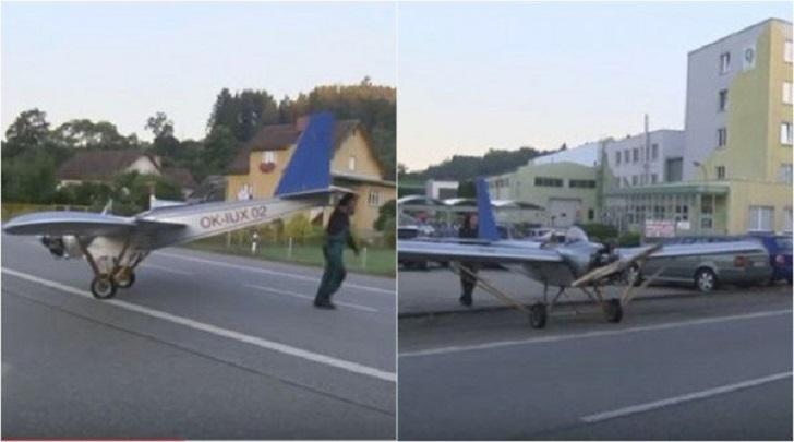È stanco di guidare fino al lavoro così si costruisce un aeroplano