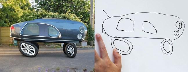 kid-drawings-things-i-have-drawn-Padre rende reali i disegni di suo figlio con risultati grotteschi-4