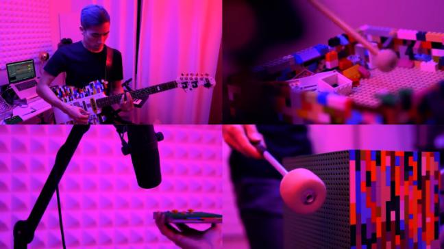 chitarra-lego