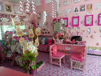 classe rosa di hello kitty filippine 4
