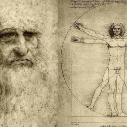 Leonardo Da Vinci VItruvıus man