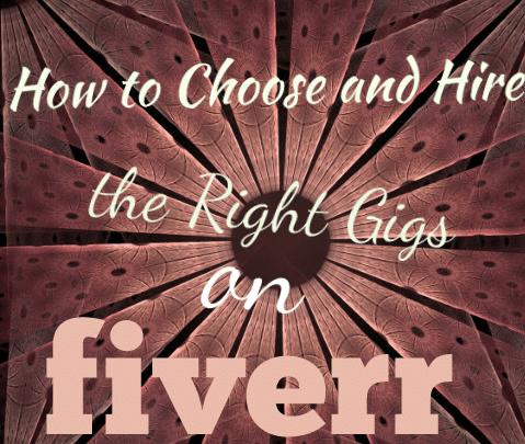 Choose right fiverr gig