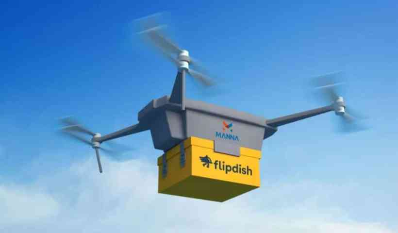 Manna's 5G drone delivery deal will help you track your airborne pizza