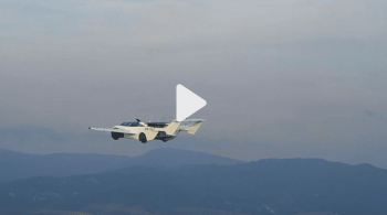 Klein Vision's Flying car completes 35-minute test flight between cities