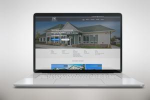 Serafinre Website Mockup