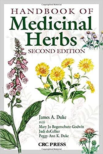 Handbook of Medicinal Herbs 2nd Edition