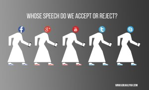 Whose speech do we Accept or Reject?  Your Narrators are in Question on Social Media