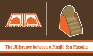 The Difference between a Masjid and a Musalla