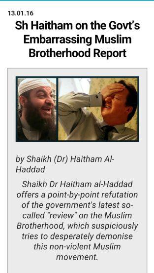 Haitham Haddad, a GLM speaker: Ikhwani sectarian hizbi.