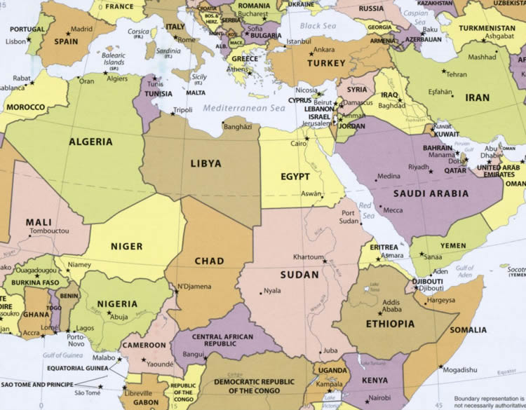 africa middle east