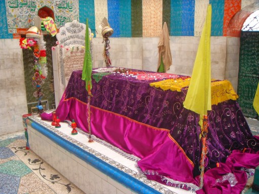 Grave of a Naqshbandi 'saint'. Sufism is frowned upon because it is an innovation in the religion with practices that contradict the core beliefs of Islam.