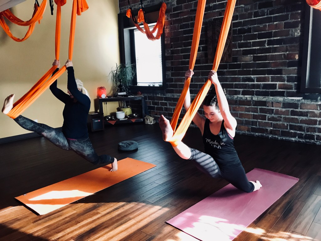 Trying Aerial Yoga For The First Time – What You Should Know + Why You Should Try It