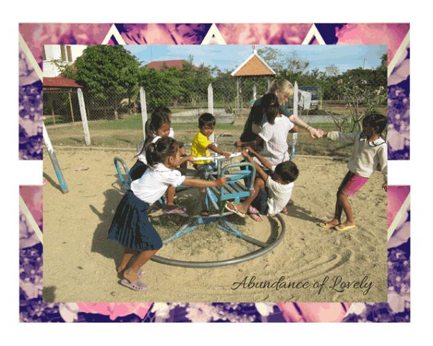 Cambodian Carefree Children
