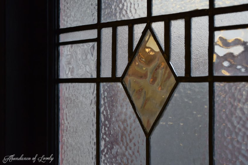 The stained glass days of reflection