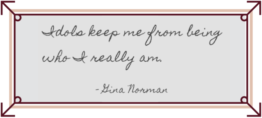 Gina Norman Quote | Abundance of Lovely