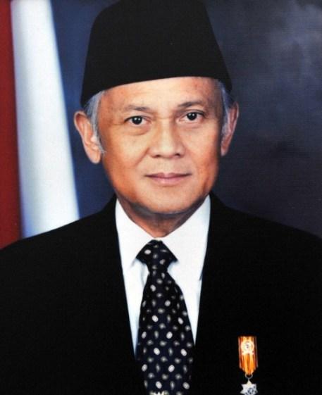Presiden Bacharuddin Jusuf Habibie