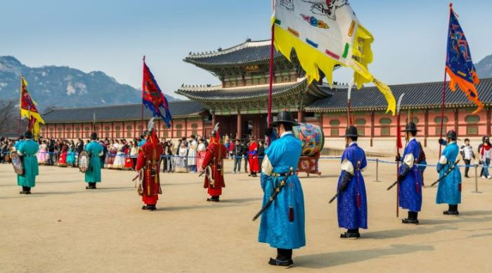 budaya orang korea