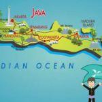 √ PETA PULAU JAWA HD : Jawa Tengah, Barat, Timur, Banten & DKI Jakarta
