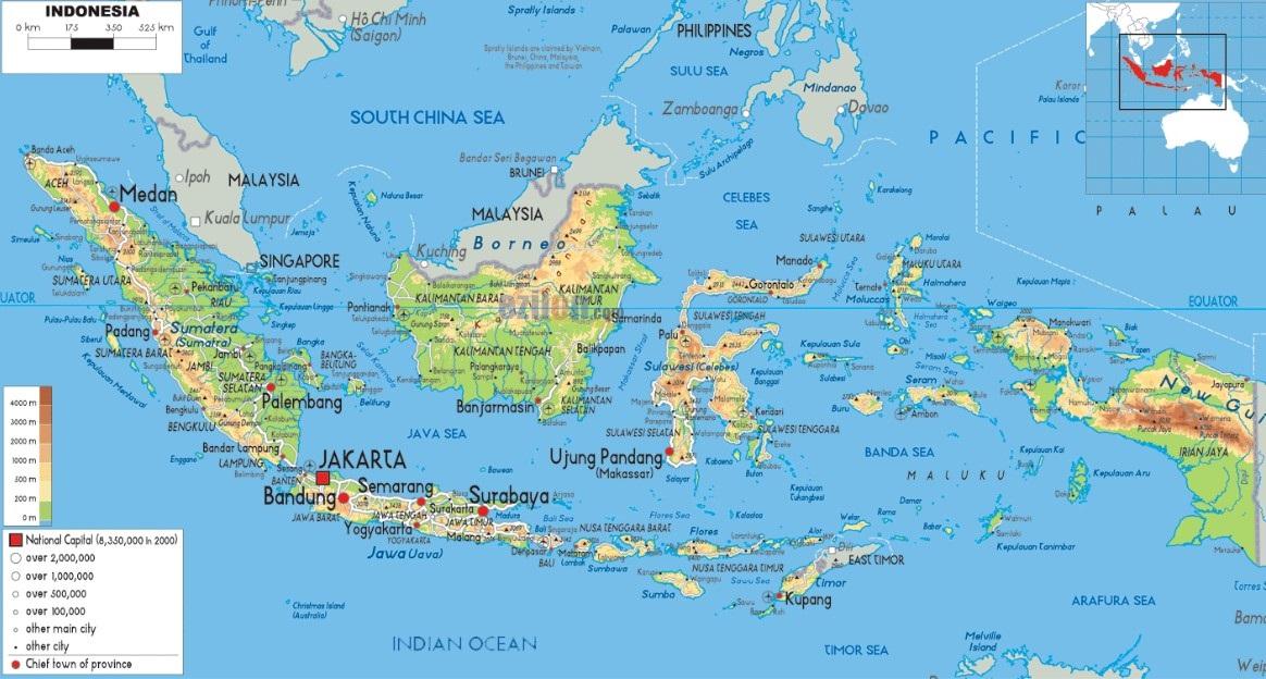 From simple political maps to detailed map of indonesia. Peta Indonesia Hd Gambar Batas Luas Nama Provinsinya Lengkap The Book
