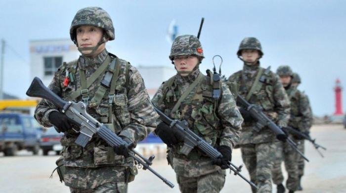 wajib militer orang korea