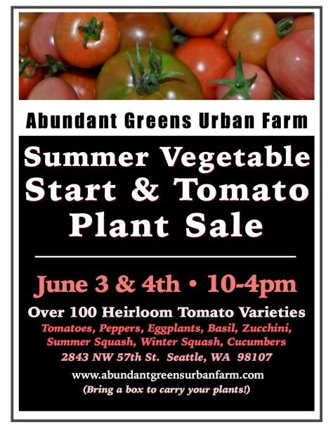 2017 Summer Plant Sale Poster JPEG