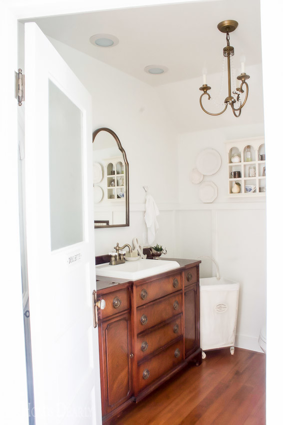 Create Share Inspire Link Party - Master Bathroom Reveal - She Holds Dearly