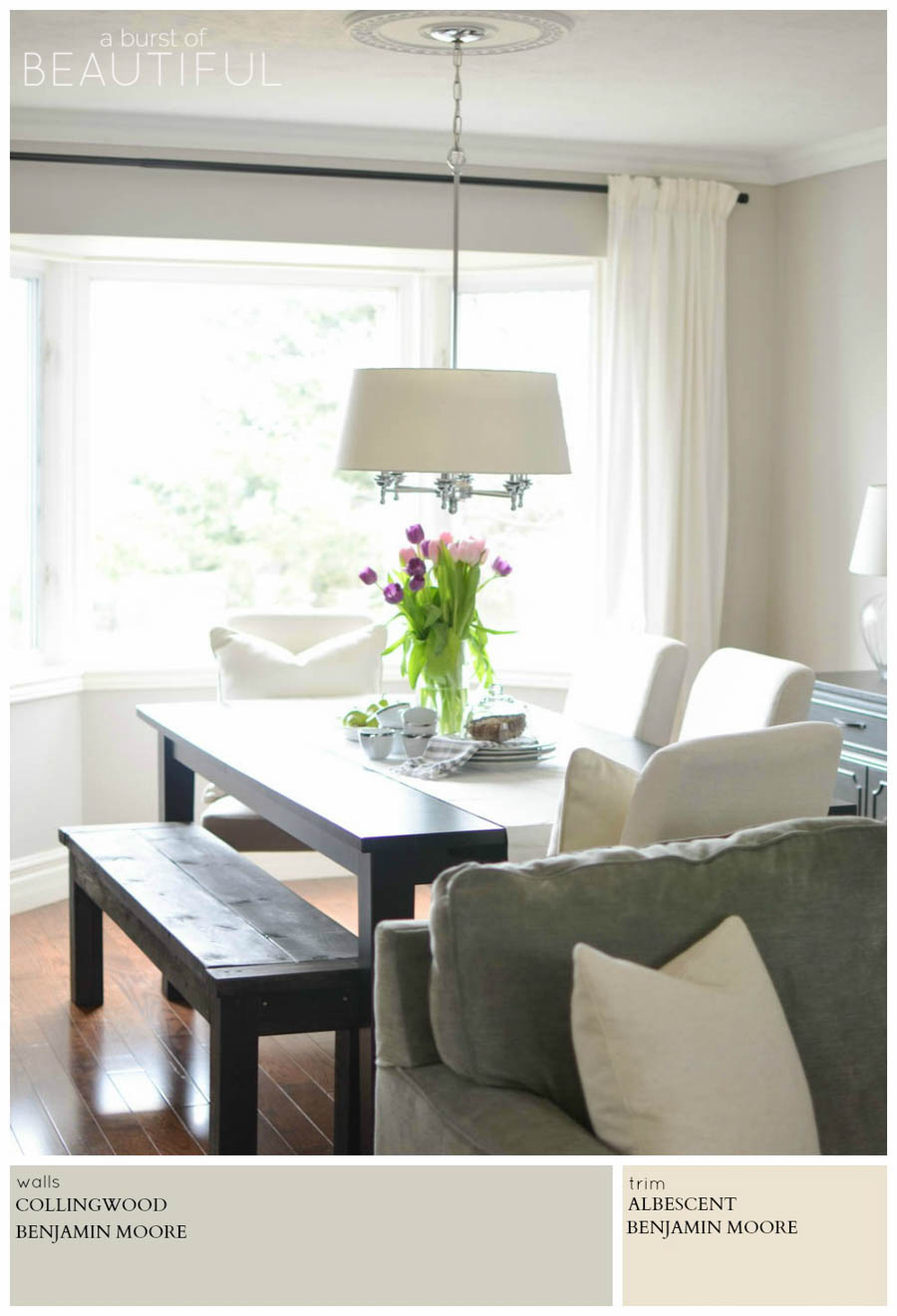 modern farmhouse neutral paint colors a burst of beautiful on colors for farmhouse living room id=28232