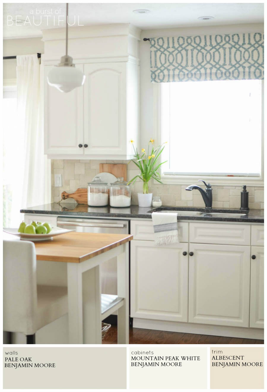 Best Kitchen Gallery: Modern Farmhouse Neutral Paint Colors A Burst Of Beautiful of Farmhouse Kitchen Paint Colors on rachelxblog.com