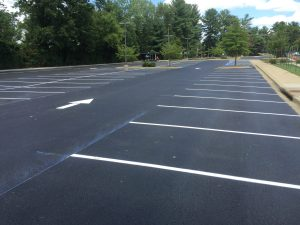 Finished Parking Lot