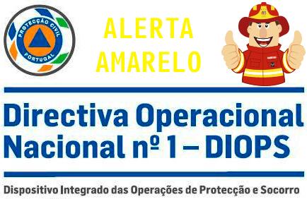 AMARELO – Estado ALERTA Especial